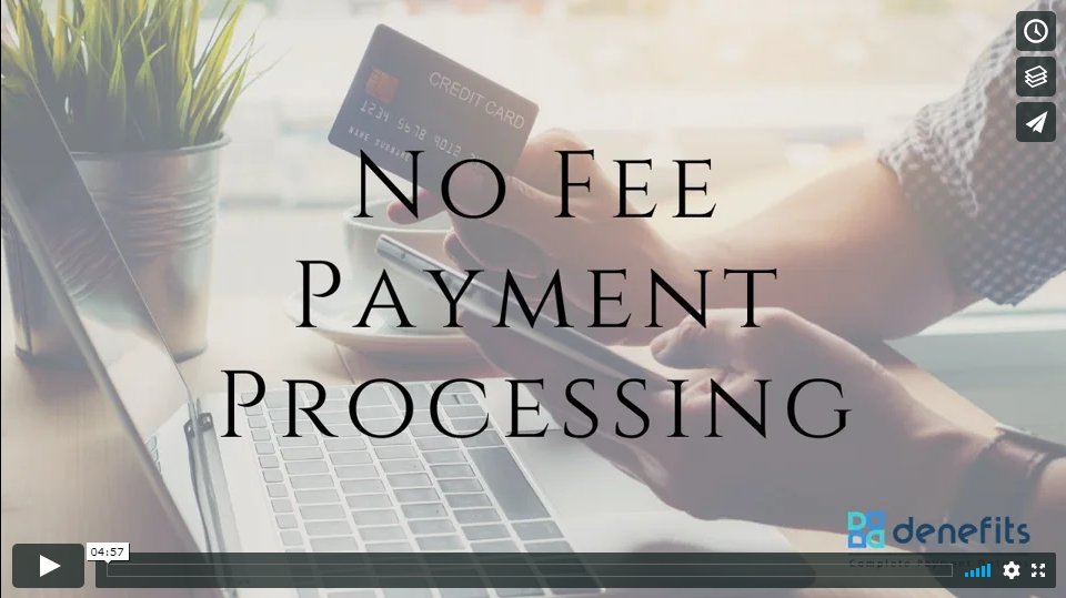 No fee Payment Processing